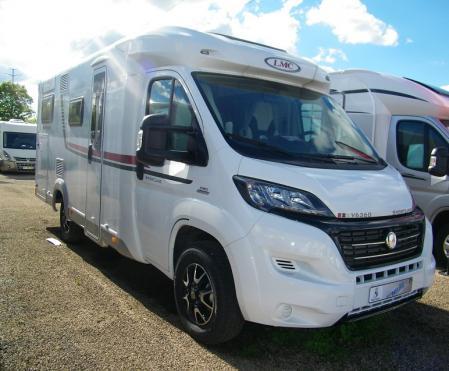 camping car LMC BREEZER V 636 modele 2016